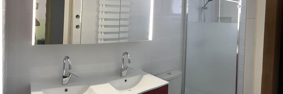 Agencement salle de bain à La Rochelle