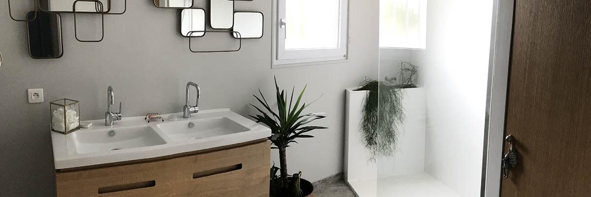 Agencement salle de bain haut de gamme à La Rochelle