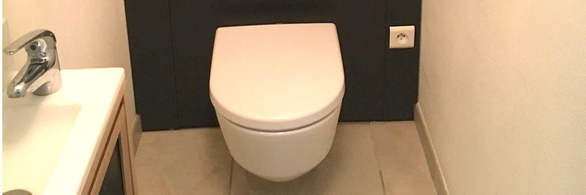 Gain de place, le WC Suspendu à La Rochelle